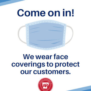 AR COVID Welcome Customers