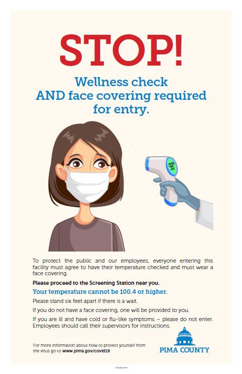 AZ Pima County COVID Wellness Check