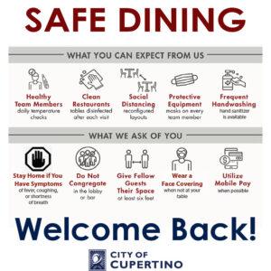 CA Cupertino Safe Dining