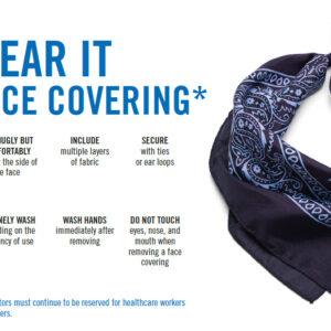 CA San Mateo County cloth covering