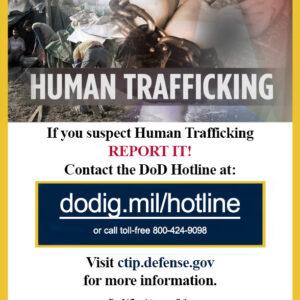 DoD Human Trafficking